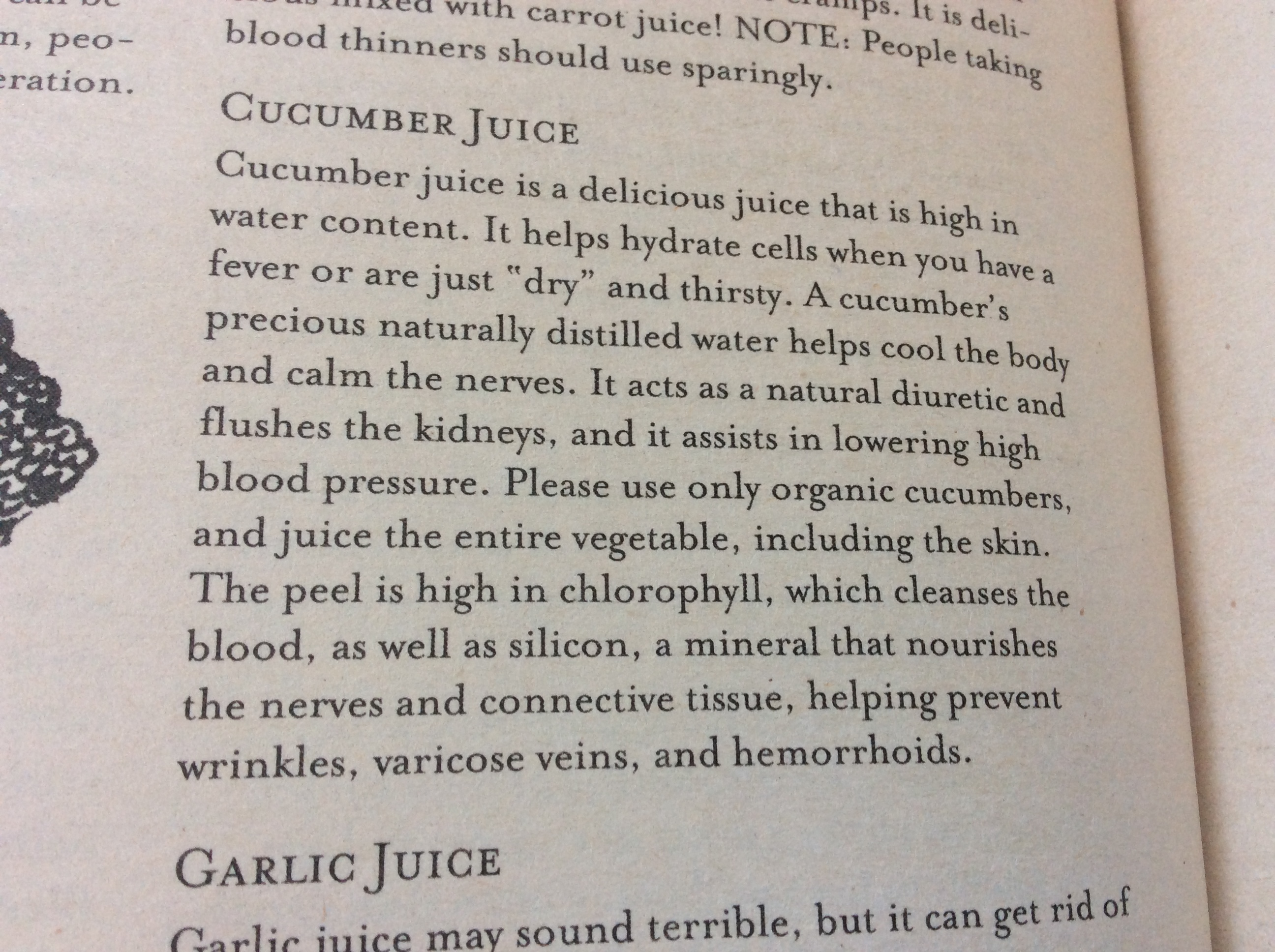 vegetable juicing tips Cucumber